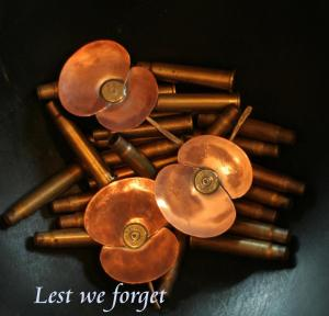 Anzac Day is a time to remember - this is for my Mother and Father.